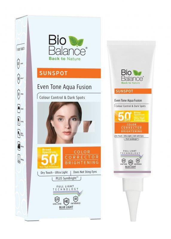 Солнцезащитный крем SPF 50+ для ровного тона кожи
