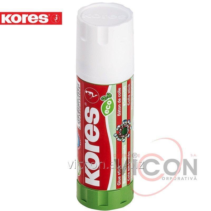 Купить Клей-карандаш KORES (ECO), PVP основа, 40г.