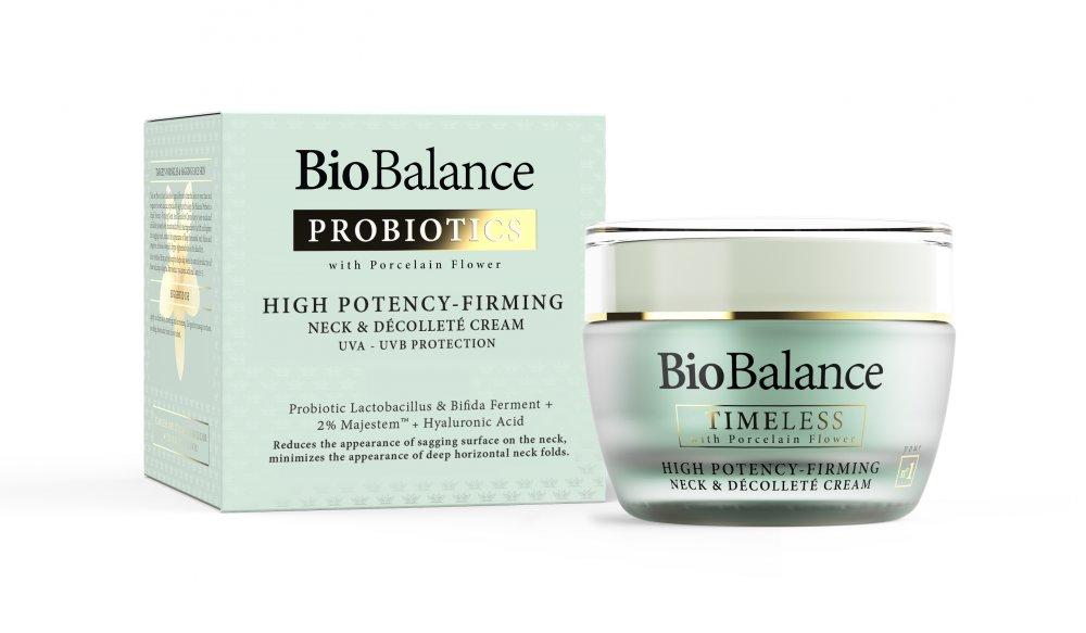 Крем Biobalance Timeless With Porcelain Flower High Potency – Firming Neck & Decolette Cream, 50 Ml