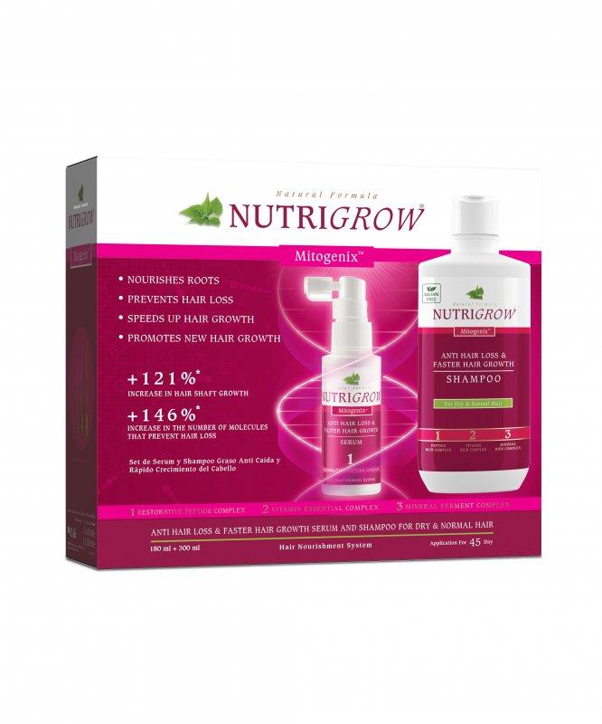Набор шампунь + сыворотка против выпадения волос NUTRIGROW