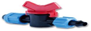 Купить Кран проходной для капельной ленты DN17, SL-011-5