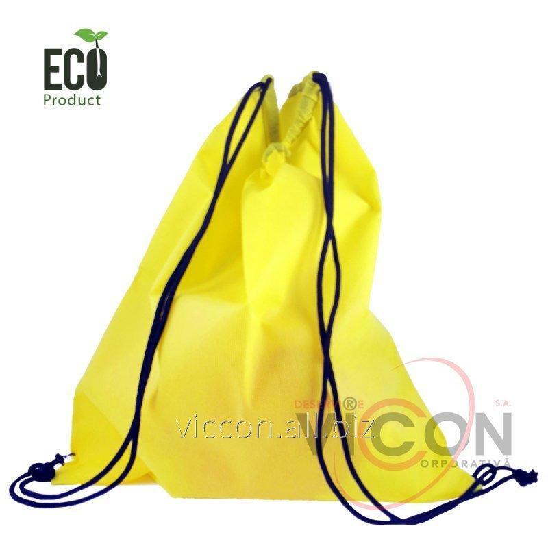 Купить Эко-Мешок для обуви с шнуром, 30x40 см, плотность 50г.