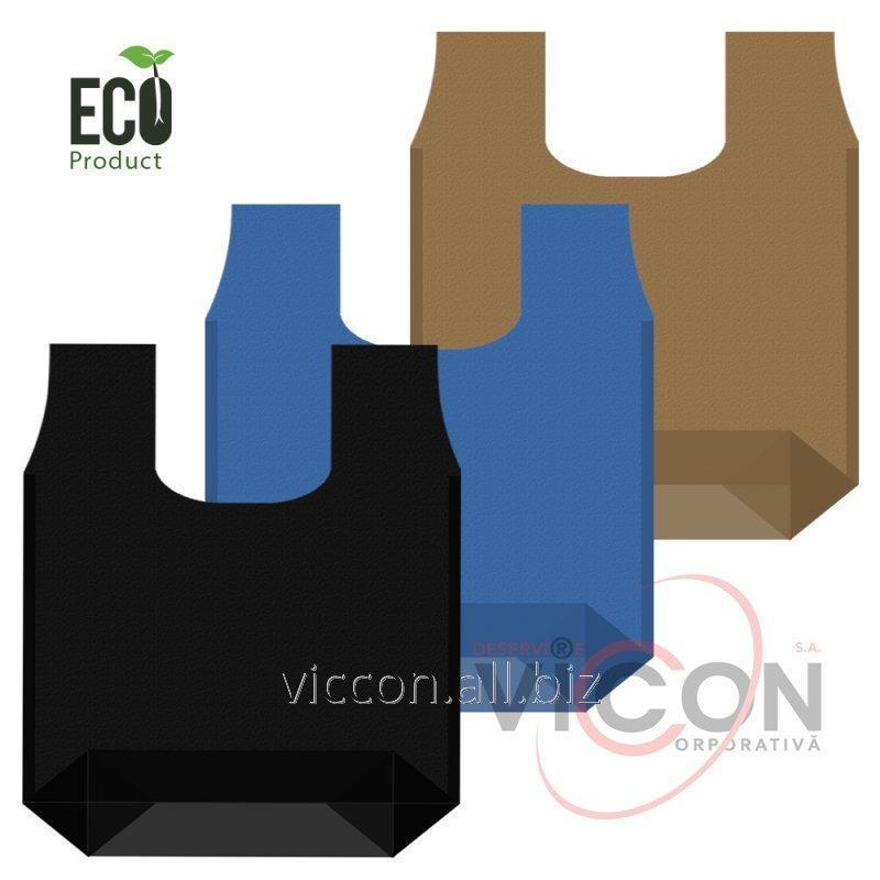Купить Эко-Сумка майка с расширенным дном L, 53х65 см, плотность 60г.