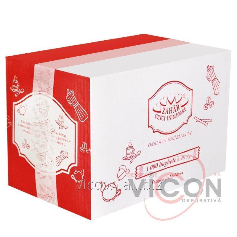 Купить Сахар Cinci inimioare 1000 стиков x 5 г (5 кг)