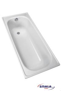 Купить Ванна стальная (EMALIA) 1,7*0,7 м белая (+ножки)