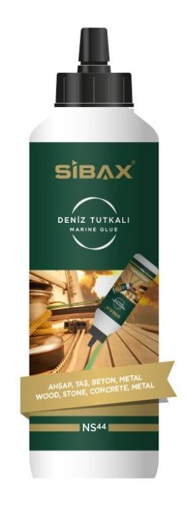 Купить Жидкий клей SIBAX NS 44 PU MARINE WOOD ADHESIVE 500GR-AMBER