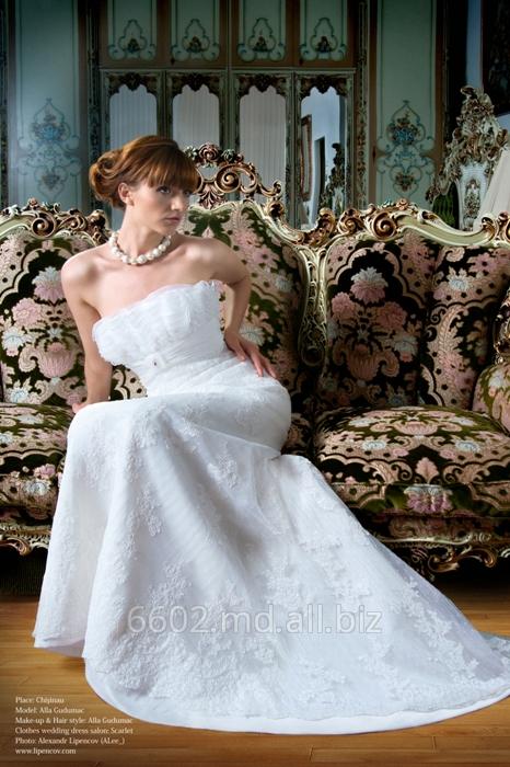 """Купить Свадебные платья от салона """"Scarlet"""". Свадебное платье """"Жизель """""""