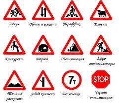 Купить Знаки дорожного движения