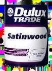 Buy Dulux Trade Satinwood - Enamel on metal and a tree.