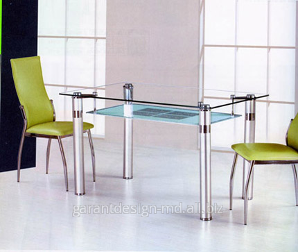 Buy Organic glass on a table: new reading of old fashion.