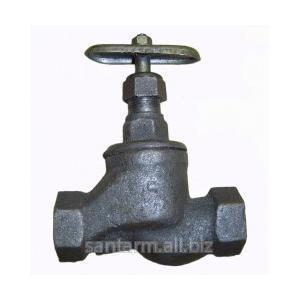 Вентиль чугунный муфтовый d15 mm - d50 mm