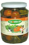 Купить Ассорти из томатов и огурцов