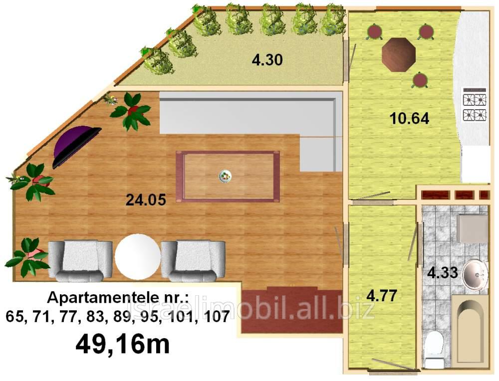 Купить Квартиры 2-х комнатные