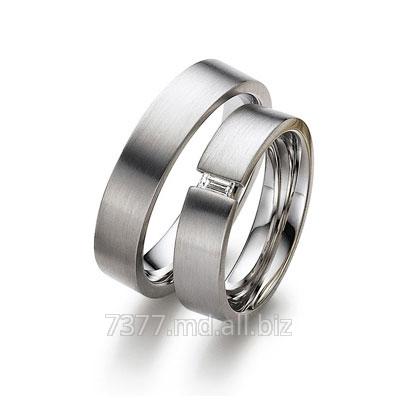 Купить Кольца обручальные серебряные