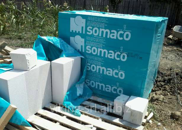 Buy Gas-concrete SOMACO blocks