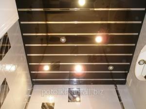 Потолки реечные