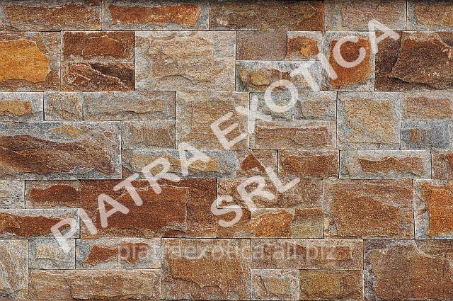 Камень натуральный облицовочный 5+10см скол цвет: Медведь