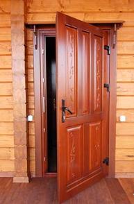 тёплая входная дверь для частного сектора