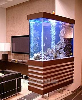 Купить Интерьерные аквариумы