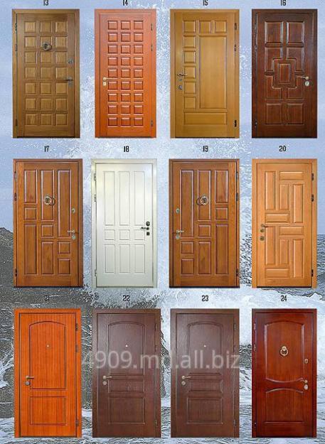 люкс отделка металлических дверей