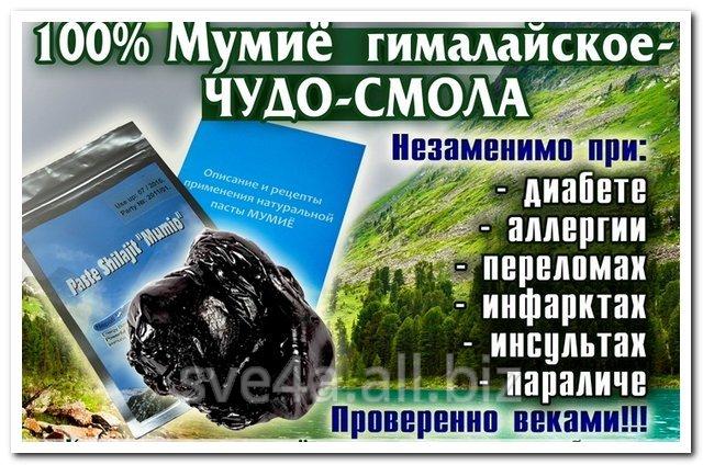 Купить Мумиё гималайское,натуральное в смоле,20 грамм.