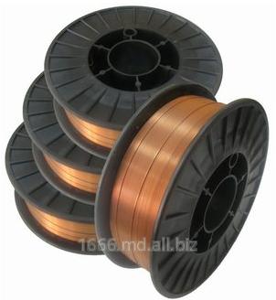 Купить Проволока сварочная омедненная Св – 08Г2С ГОСТ 2246 – 70 на пластиковых кассетах
