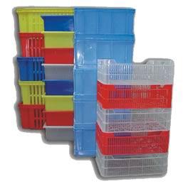 Купить Ящики пластмассовые для овощей и фруктов, продовольственных и непродовольственных товаров