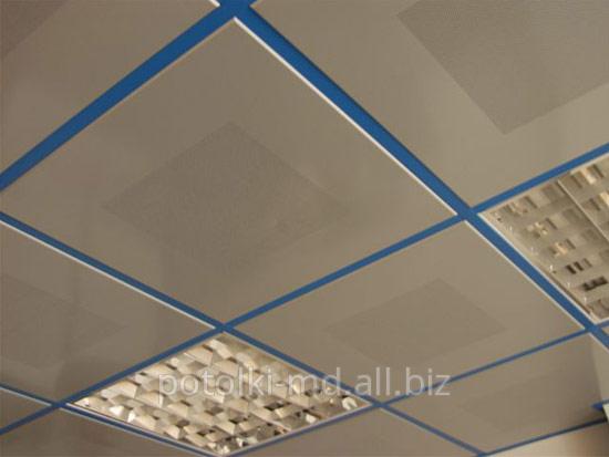 Купить Подвесные потолки кассетные, реечные, грильято