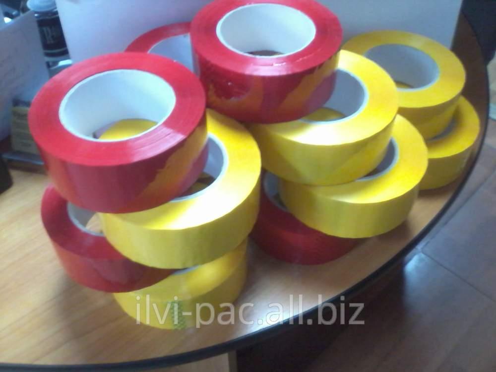 Клейкая лента цветная упаковочная