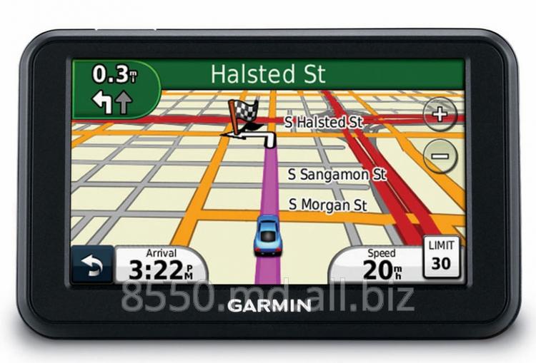 Купить GPS-навигаторы в Молдове-Garmin Nuvi 40
