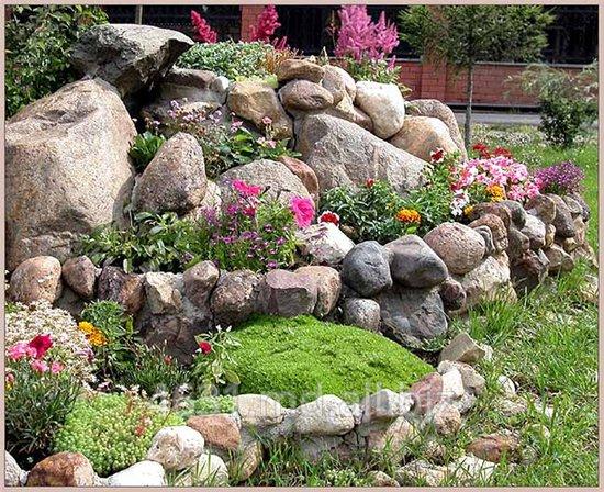 Купить Цветники альпийская горка
