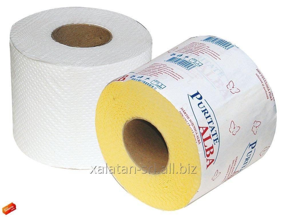 Buy White toilet paper from Puritate Alba cellulose!