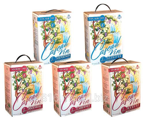 Купить Вина Cascad Vin в упаковке Bag in box