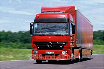 Автомобиль грузовой Mercedes-Benz Actros