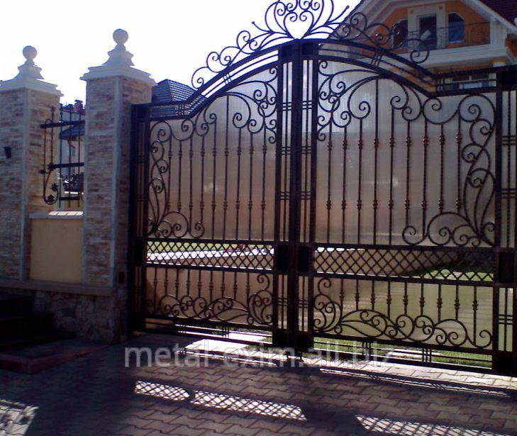 Купить Ворота металлические распашные в Кишиневе