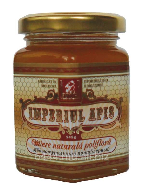 Купить Мед полифлерный, Polyfloral honey, Miere poliflora