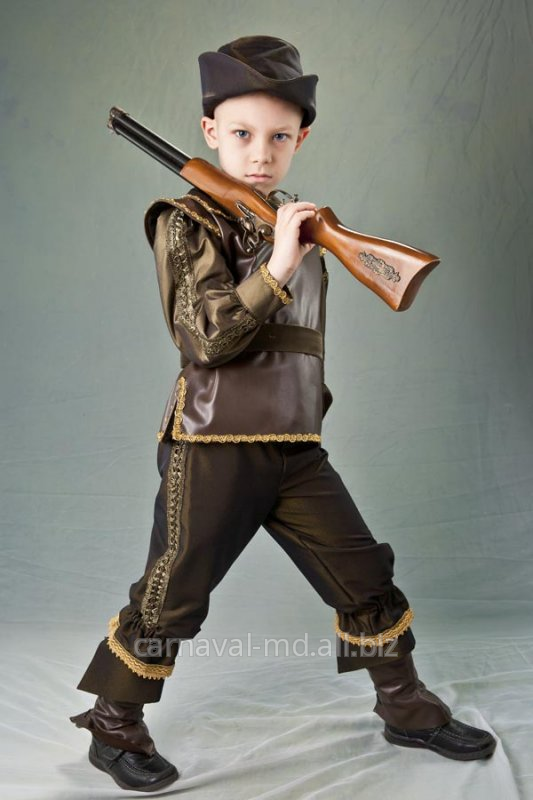 Новогодний костюм охотника для мальчика своими руками