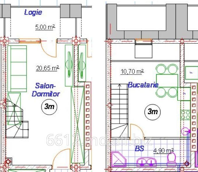 Купить Одно-комнатная квартира 3M/AI12