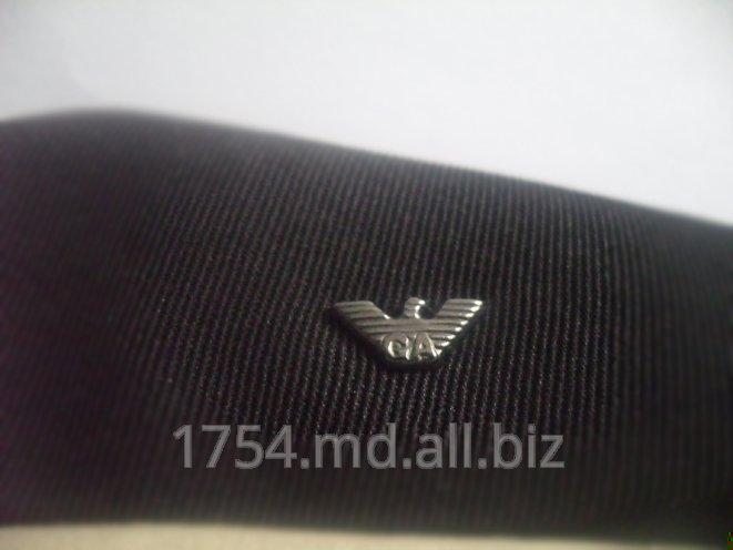 Металлические значки с логотипом компаний для одежды, обуви, аксессуаров