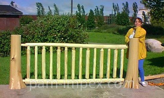 Купить Забор деревянный