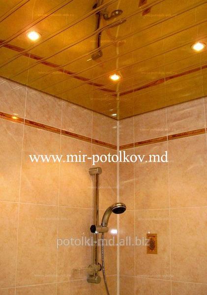Потолки подвесные для ванной