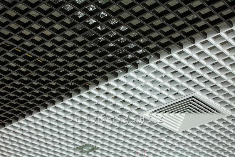 Решетчатые подвесные потолки Грильято