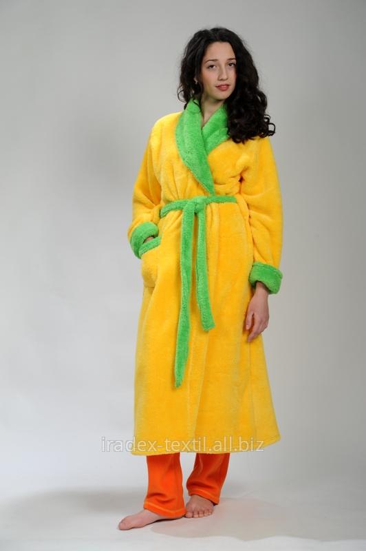 Халат женский из мягкой ткани