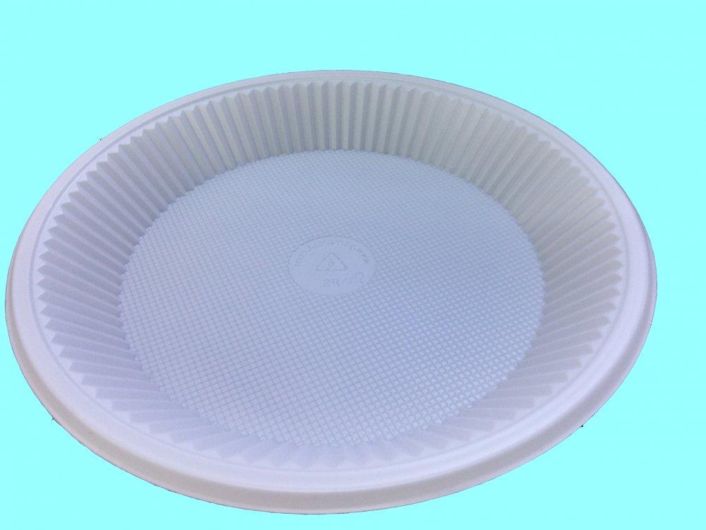 Купить Тарелка одноразовая, диаметр 195мм.