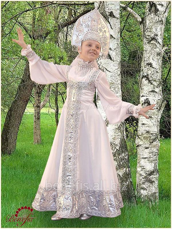 Русский народный костюм «Берёзка» для хороводов / R 0115