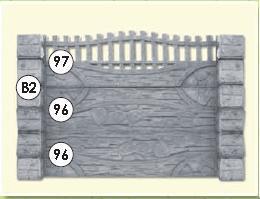cumpără Gard din beton-armat