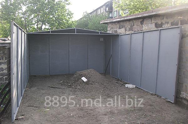 Купить Изготовление металлических гаражей в Кишиневе,Молдове