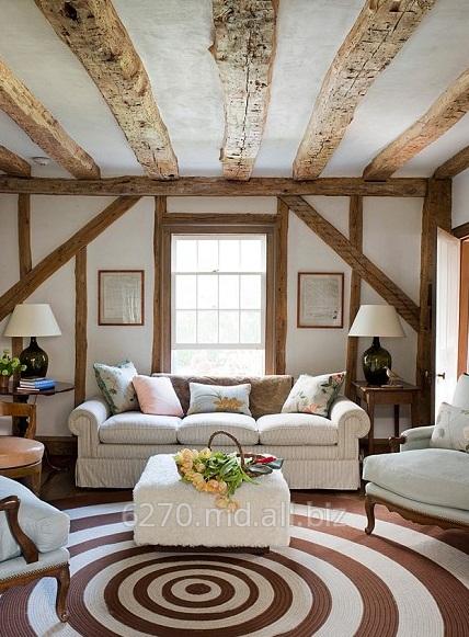 Buy Beams decorative of a tree. Semi-antique furniture
