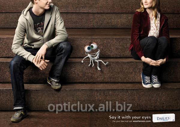 Линзы контактные торические
