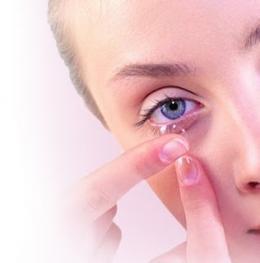 Линзы контактные сферические